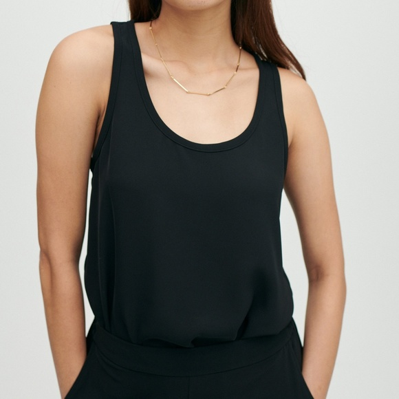 Brass Tops - Brass clothing All-Day tank, black, M